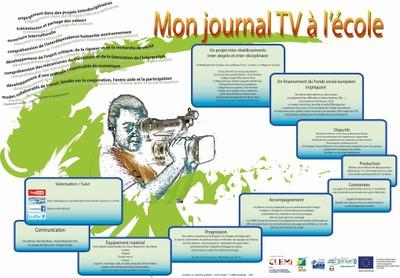 mon journal tv a l ecole