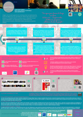 Poster Espace CreationS corrige  Conference Culture Numeriqu
